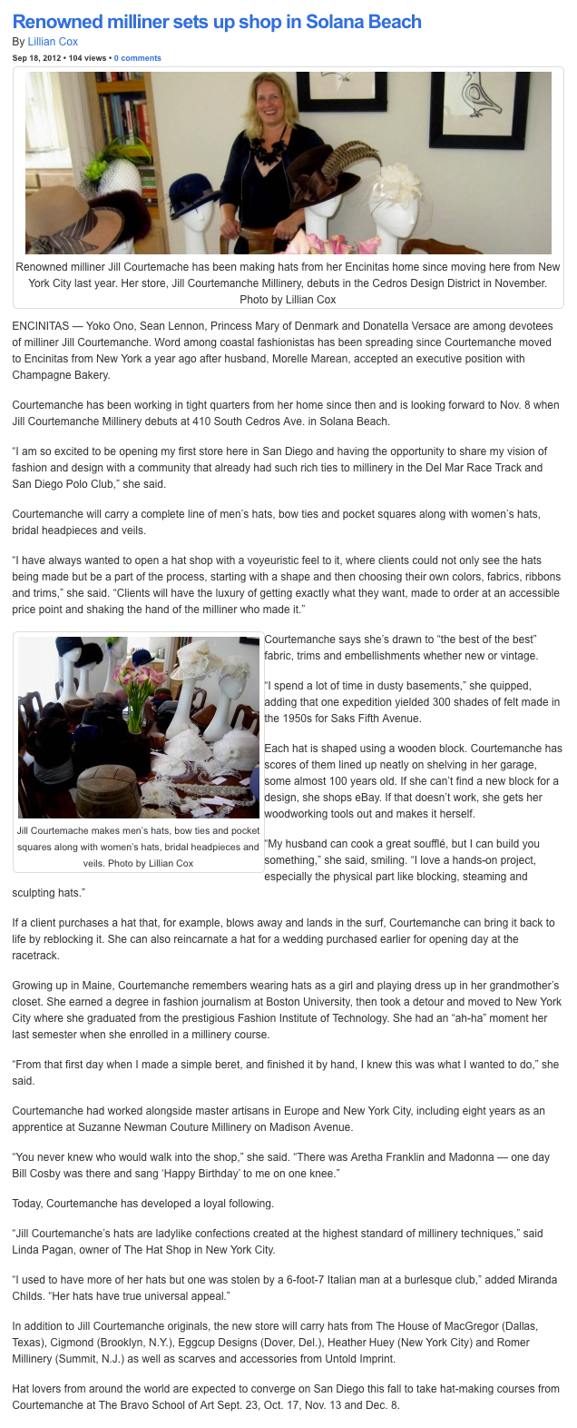 The Coast News  / September 2012