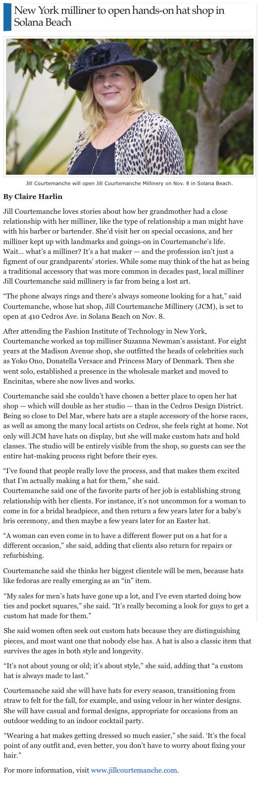 The Del Mar Times  / September 2012