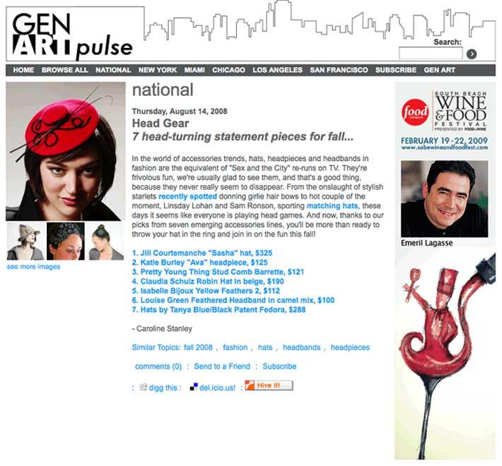 Gen Art  / August 2008