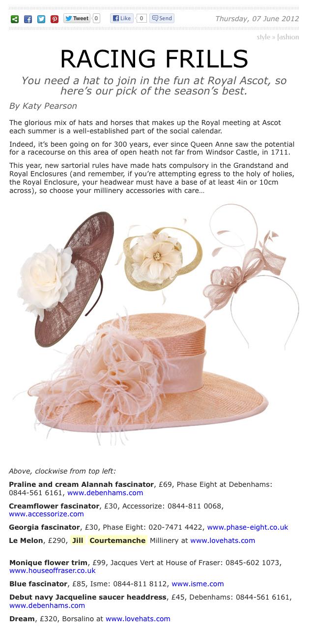 The Lady Magazine / June 2012