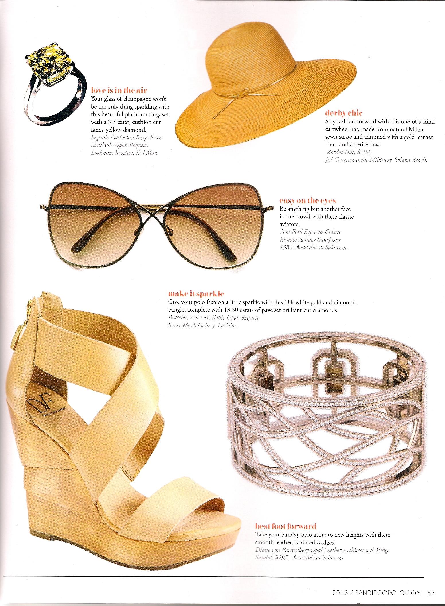 San Diego Polo Magazine  / Summer 2013