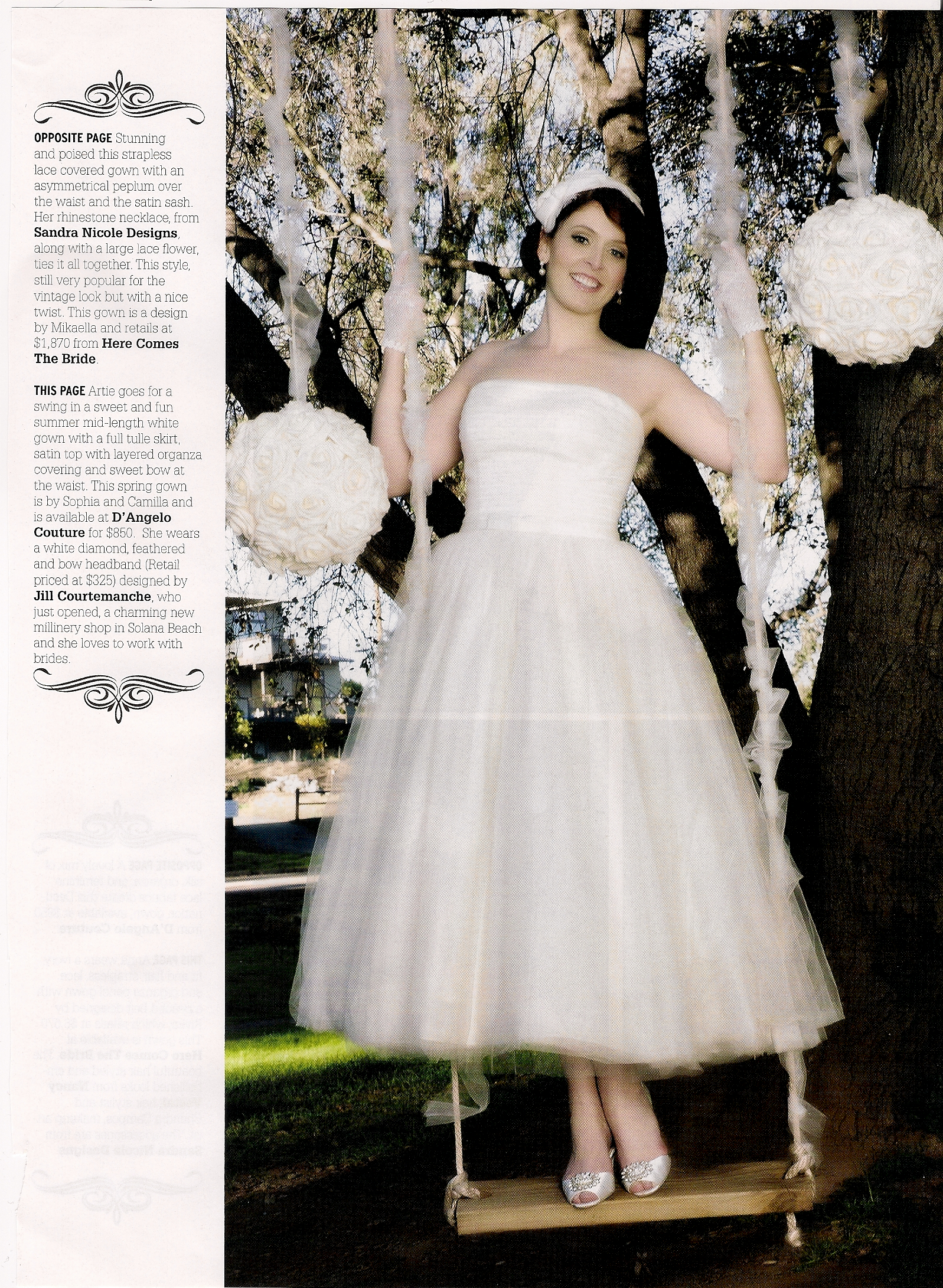 San Diego Style Weddings / May 2013