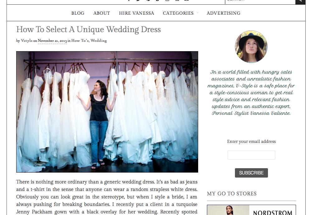 V Style Blog  / November 2013