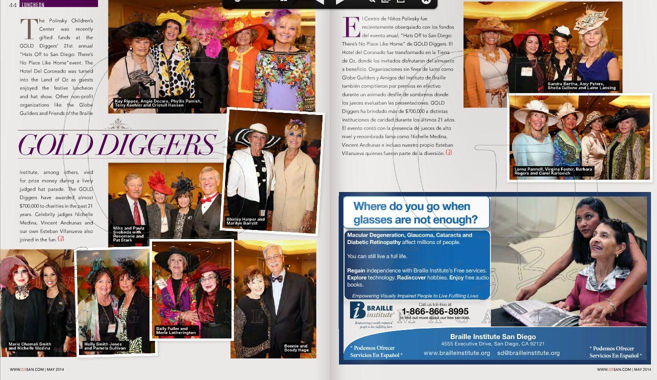Giving Back Magazine  / May 2014