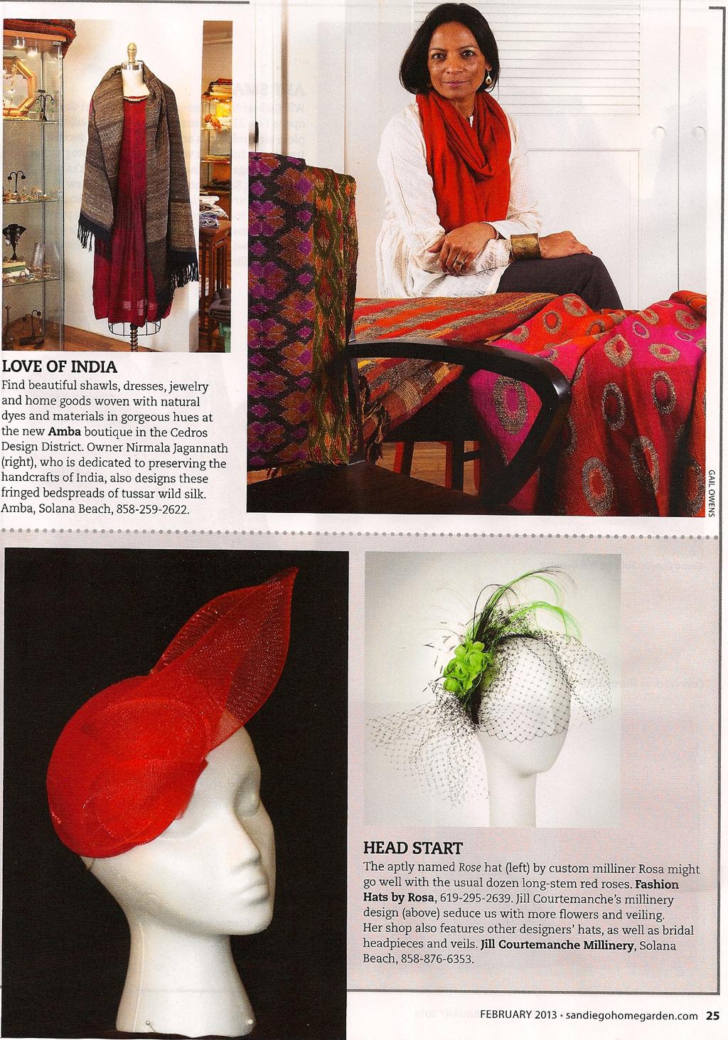 San Diego Home Garden Magazine  / February 2013