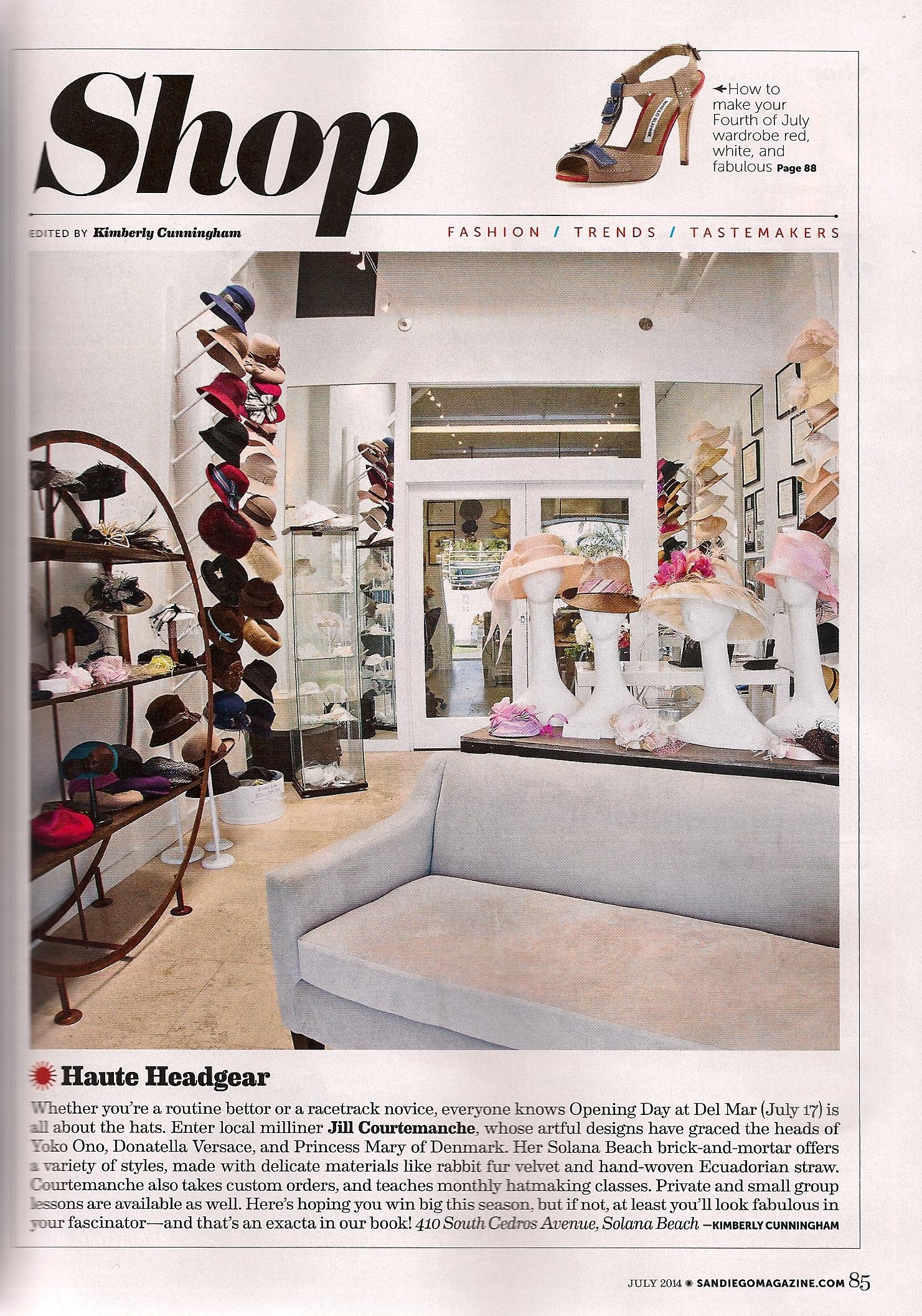 San Diego Magazine  / July 2014