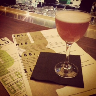 The French Martini at Eight Up