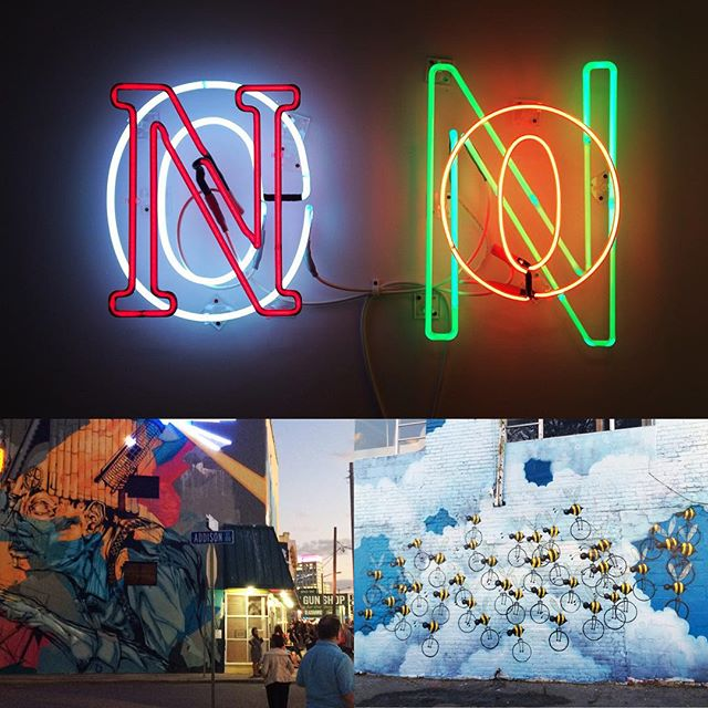 We hope everyone can check out the NEON festival on Granby St. in downtown Norfolk tonight! Its an amazing time to support local art, famous muralist, and overall the art scene finally getting it's boom in Hampton Roads!  #neonnfk #neonnorfolk #downtownnorfolk #757 #5pmmedia