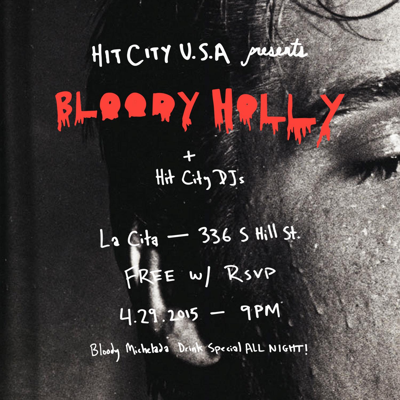 Bloody Holly LIVE at La Cita