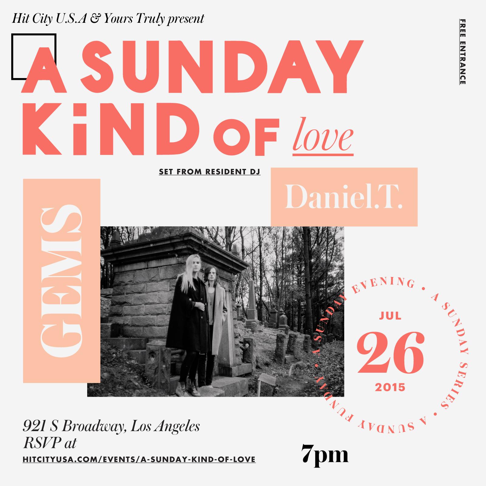 A Sunday Kind of Love With GEMS