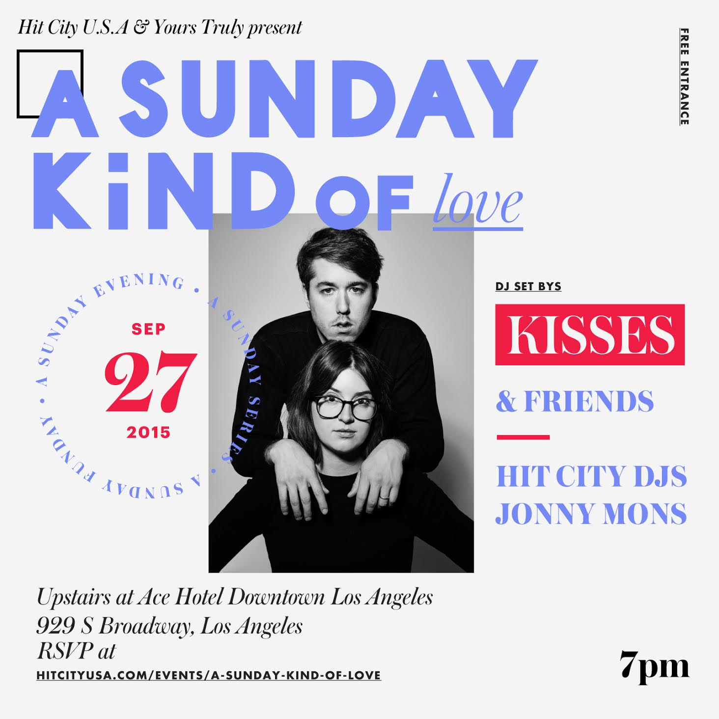 A Sunday Kind of Love With Kisses