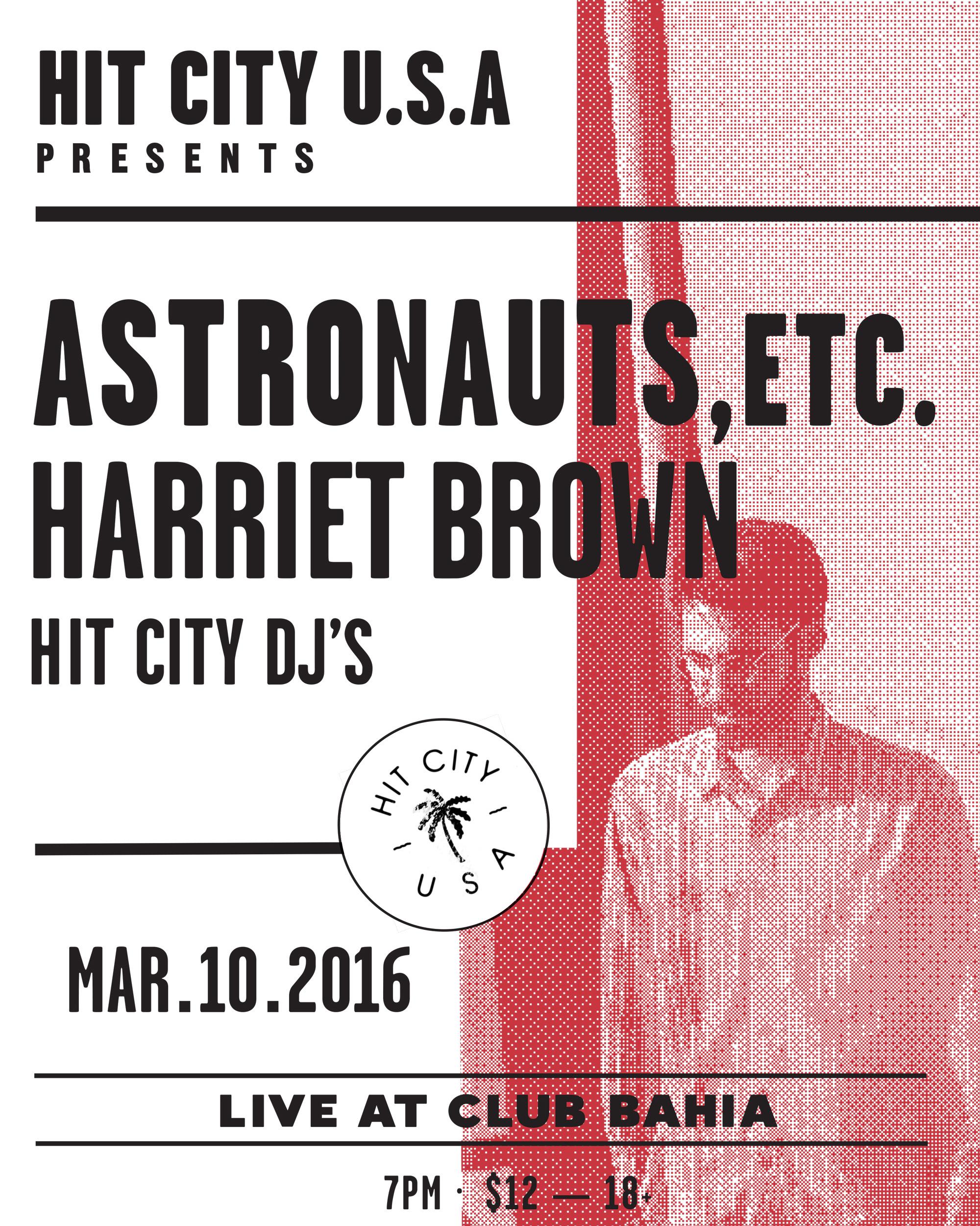Astronauts, etc. at Club Bahia