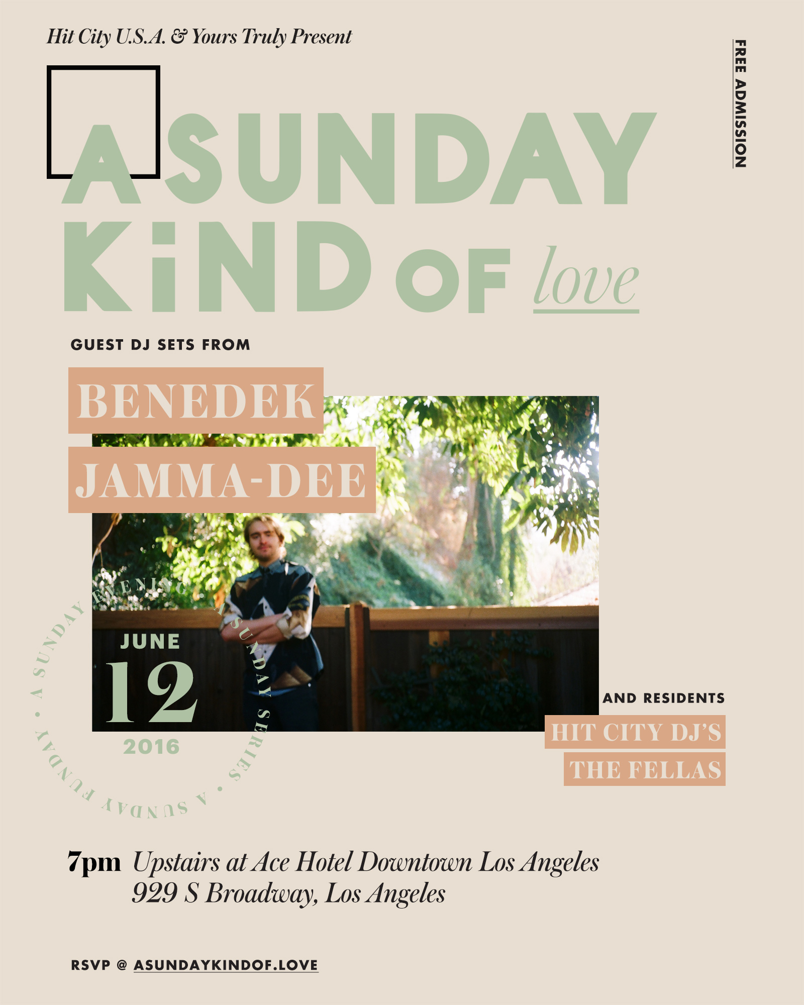 A Sunday Kind of Love w/ Benedek