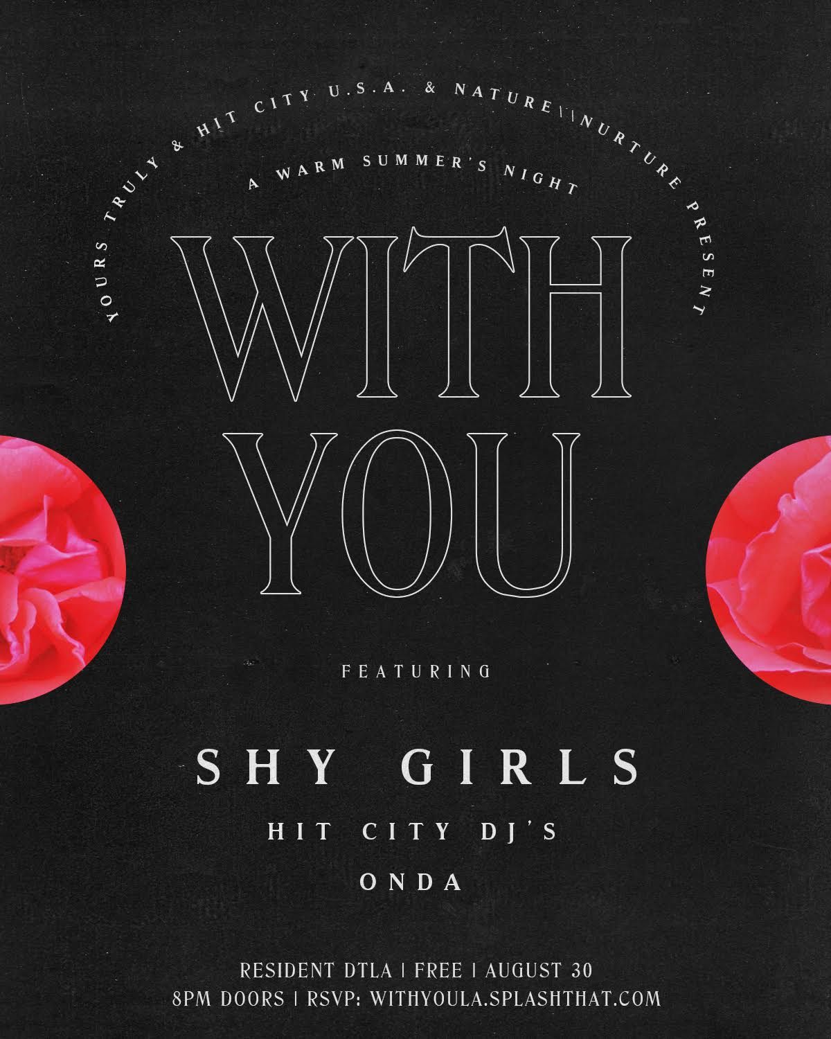 Shy Girls Live at Resident