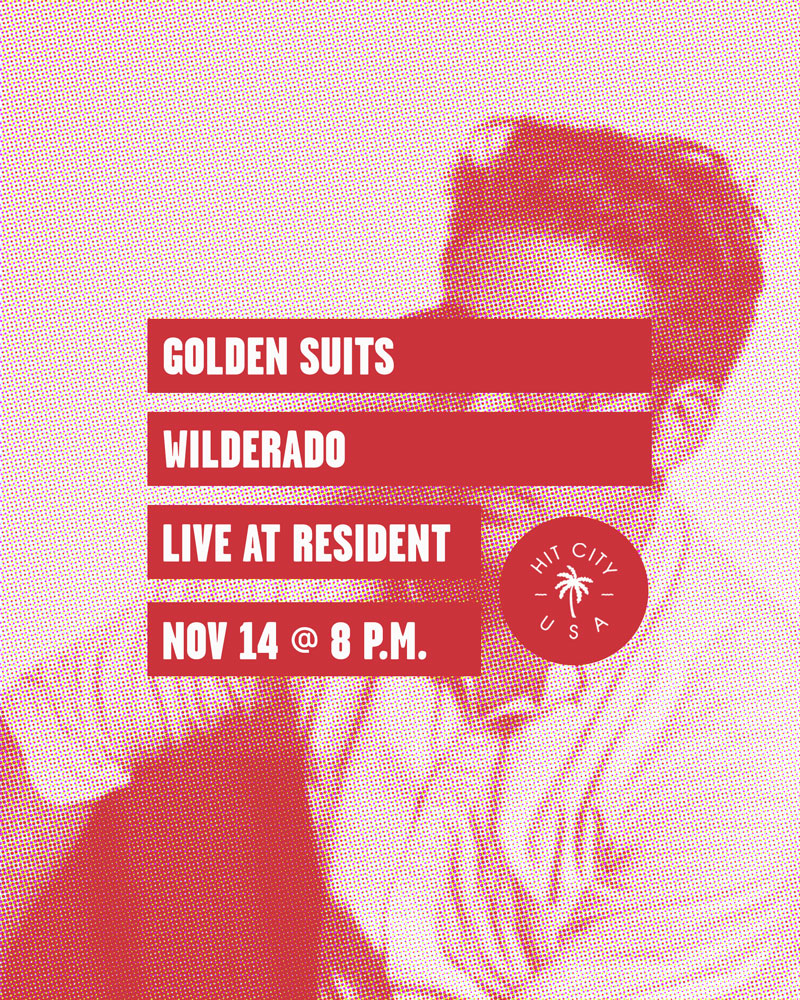 Golden Suits at Resident - Nov 14 2016