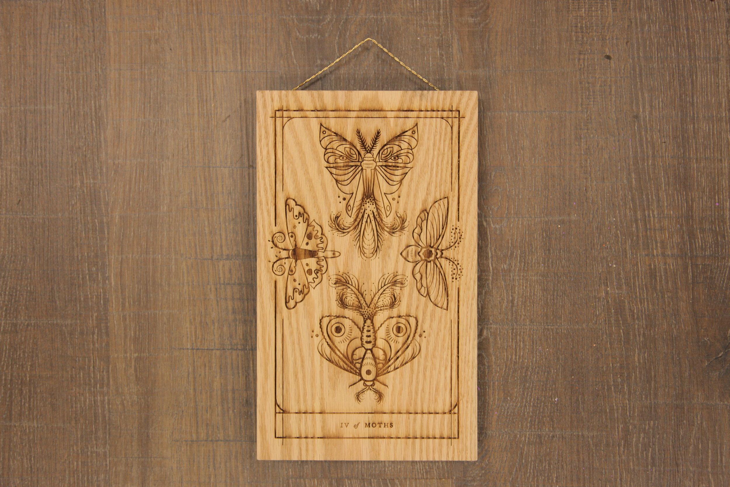 Four of Moths