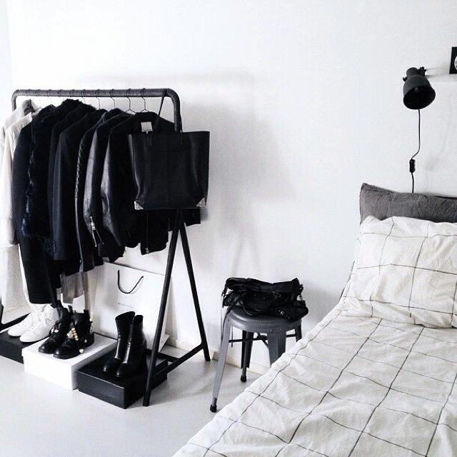 Minimalist Clothing Rack