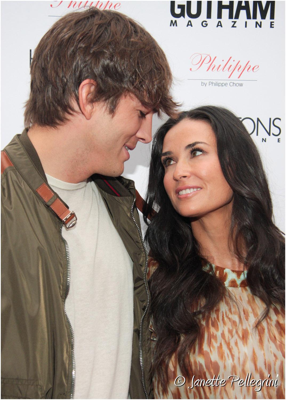 Ashton Kutcher &Demi Moore