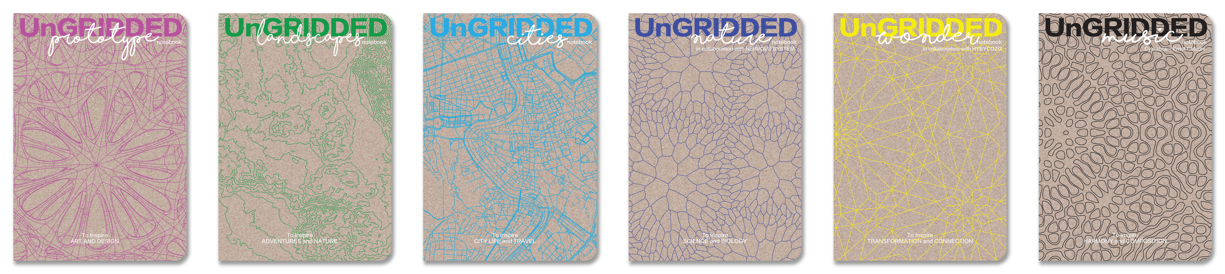 Series I - Prototype - Landscape - Cities & Series II  - Nature - Wonder - Music