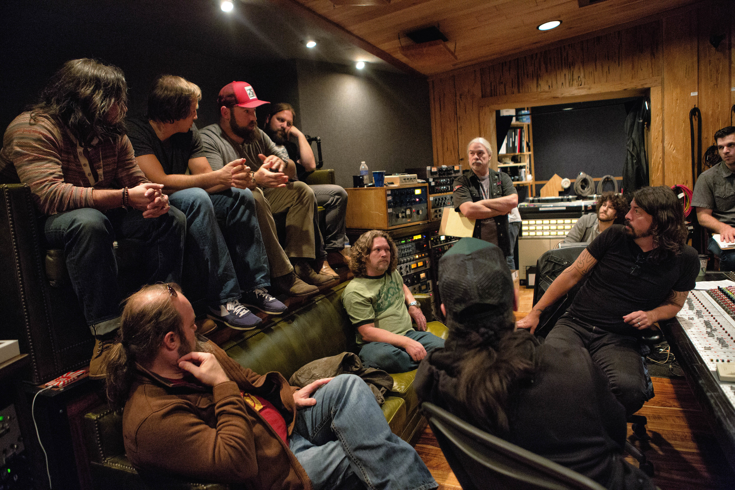 The Grohl Sessions, Vol.1 Making of