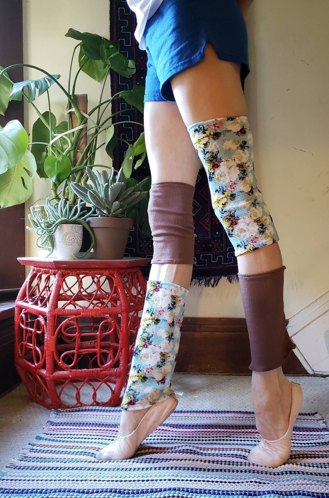 Pickystitches - Mini & Full length leg warmers that will brighten your day! Made by Ava Chatterson of Sacramento Ballet