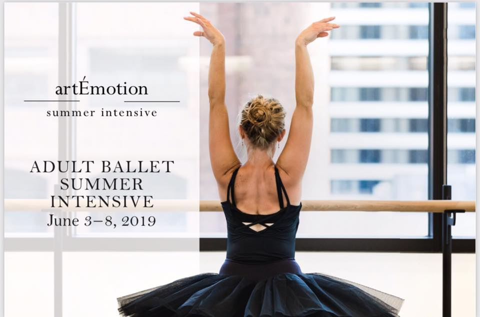 artEmotion Adult Summer Intensive - Give the gift of dance to your favorite adult dancer (or even to yourself!) to spend 1 week in Salt Lake at the Ballet West studios. #shopsmall DEAL only Nov. 24thEveryone who registers will get 10% off. Use code TURKEY10.