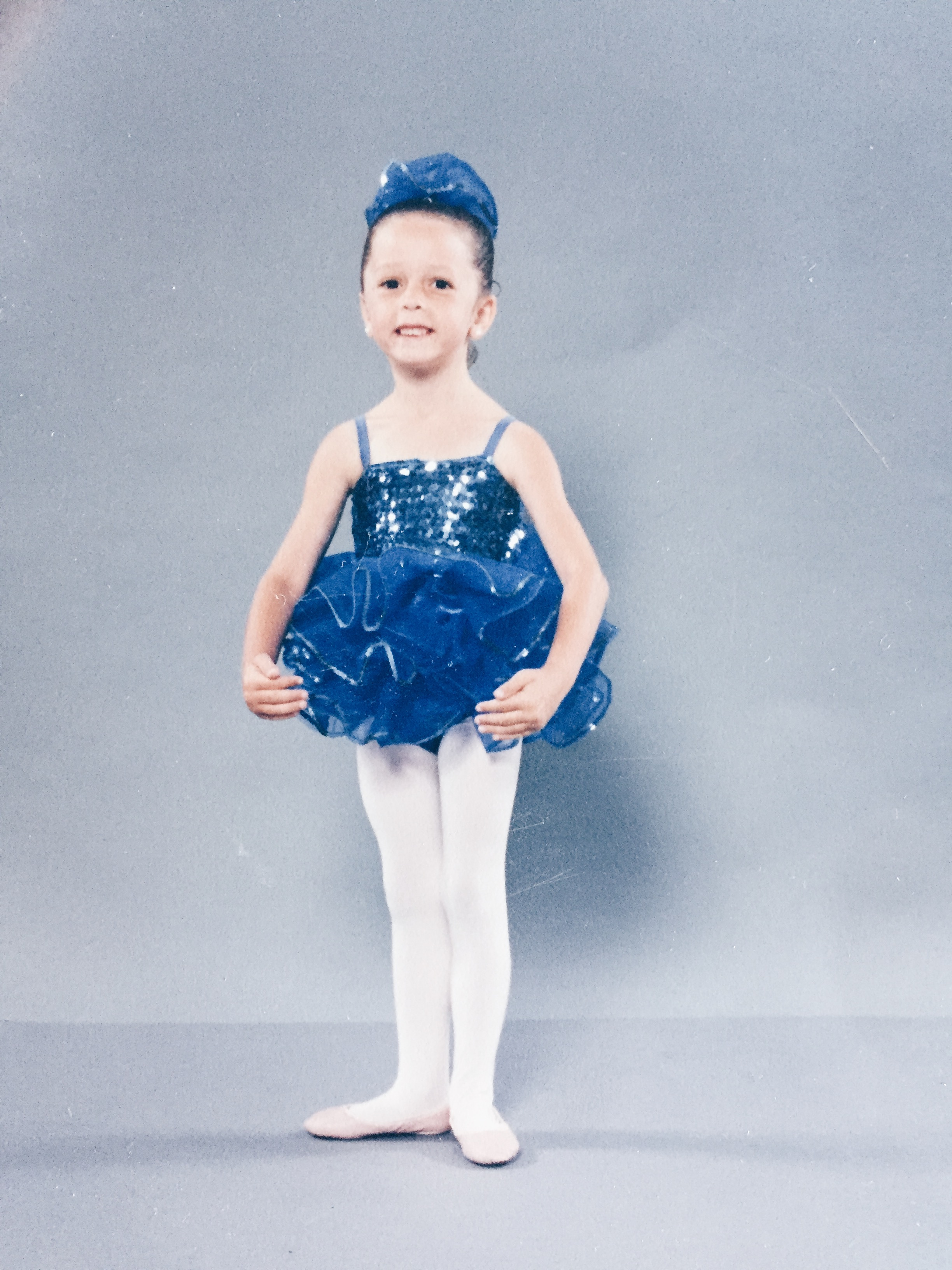 - Inspired by Angelina Ballerina, little 3 year old me wanted to learn ballet & work hard!