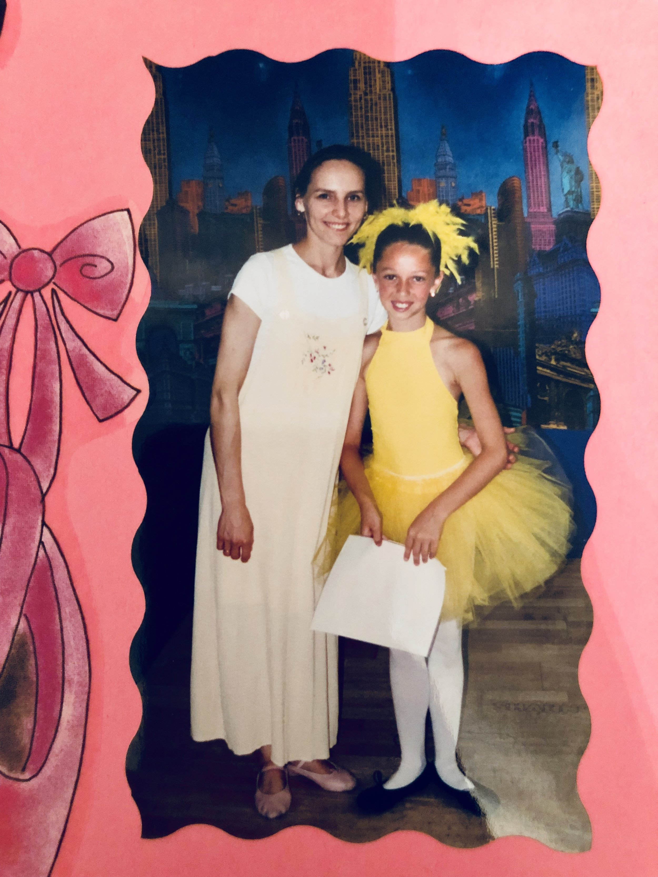 - Picking up ballet again at 8. My mom took me to a local studio called Dance Emotions. Thankfully, that is where I met my most influential ballet teacher, Hannah Karacic.