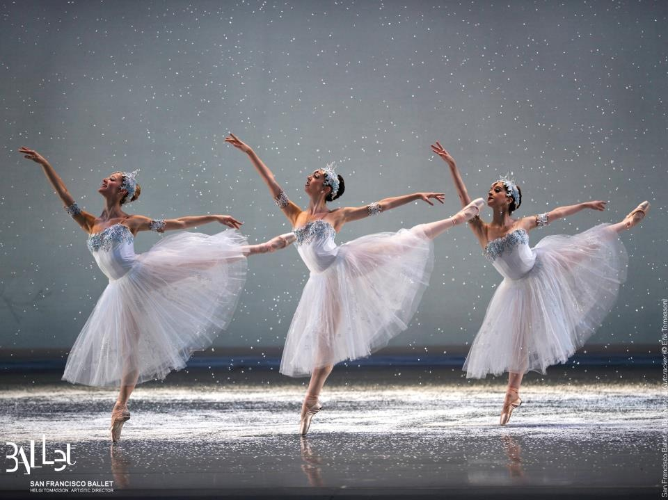 - At 18, I was invited to join San Francisco Ballet as a corps de ballet member mid-season. What a whirlwind; Kind of like this snow scene!