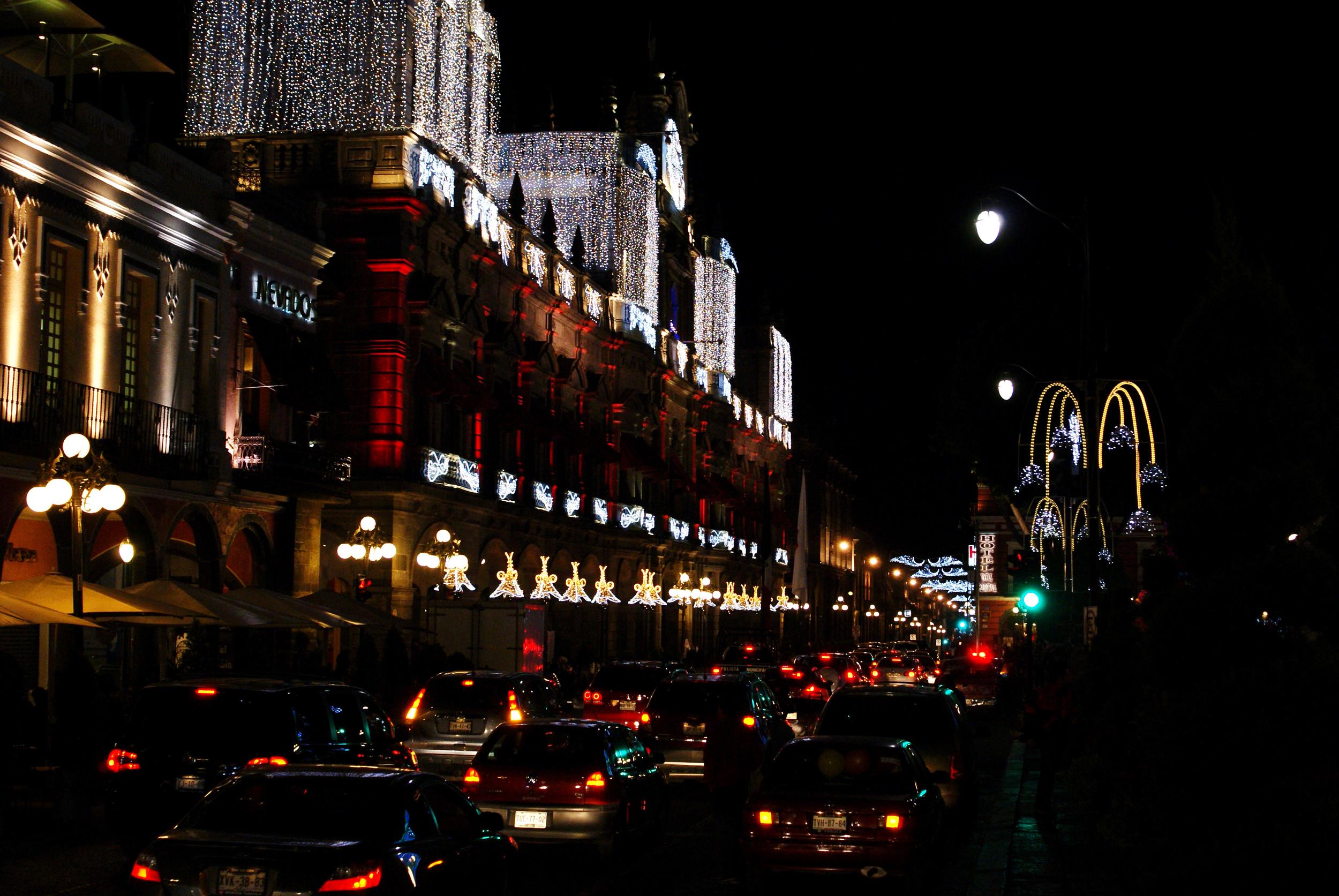 Traffic in Puebla
