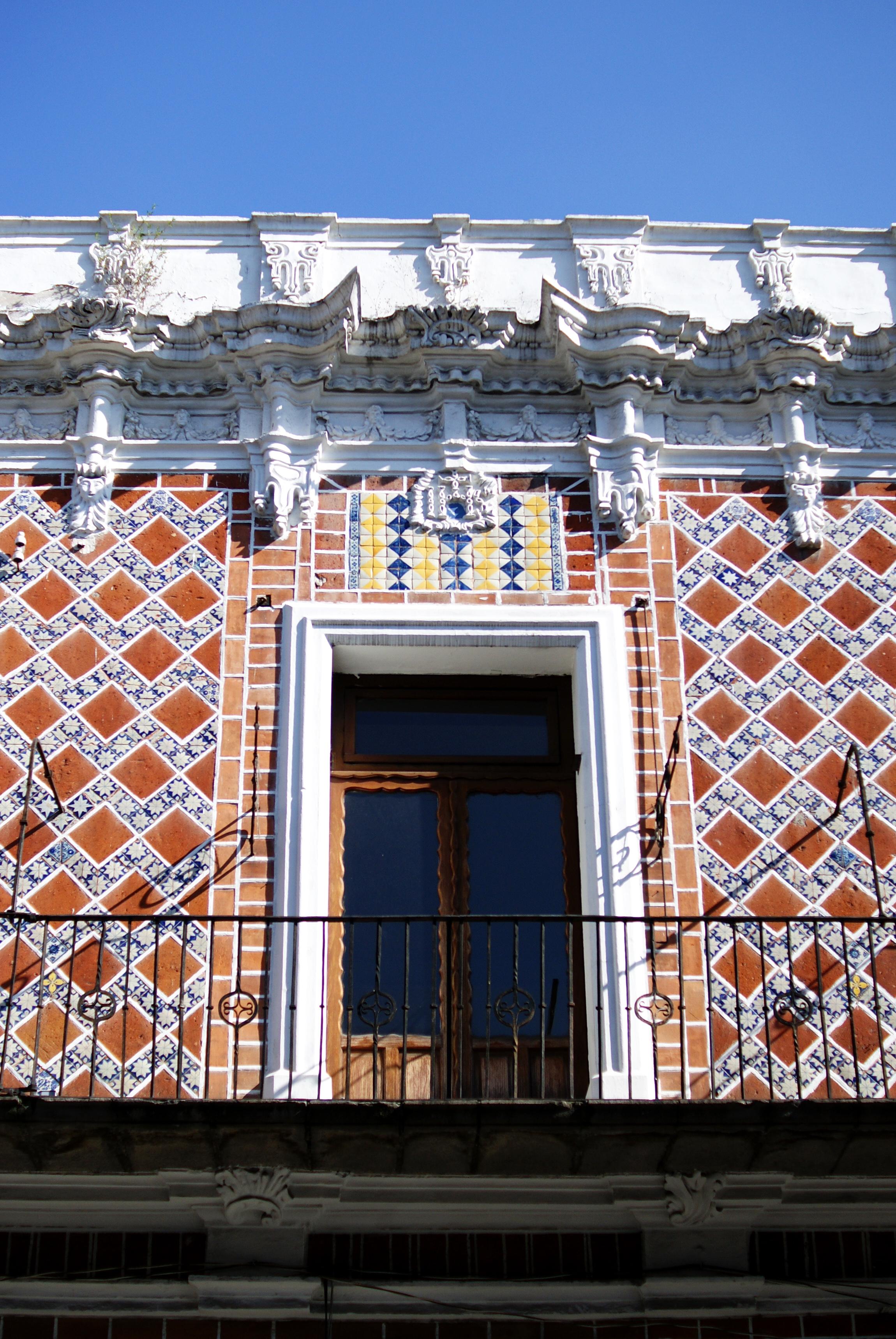 Window in Puebla