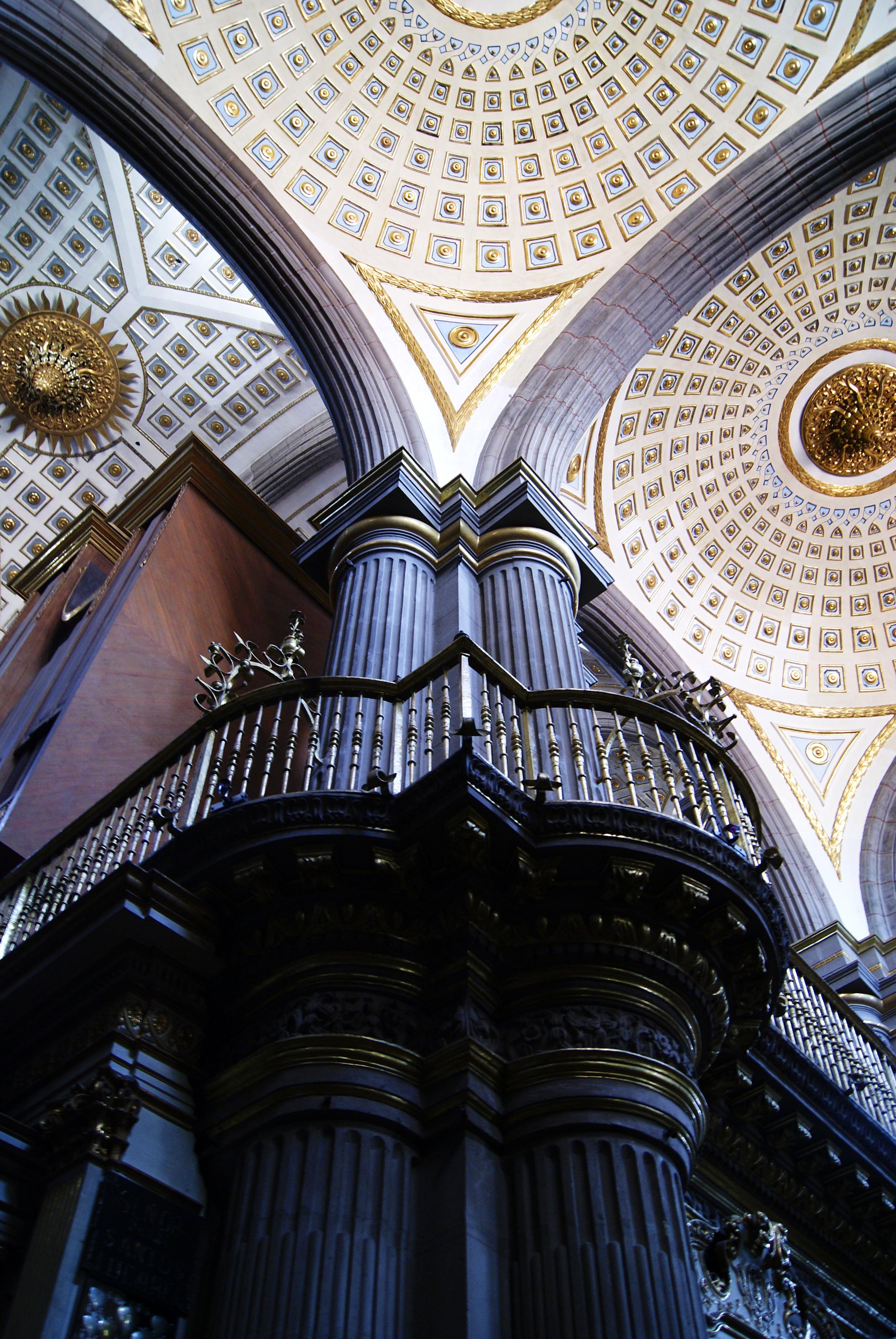Interior of Cathedral of Puebla