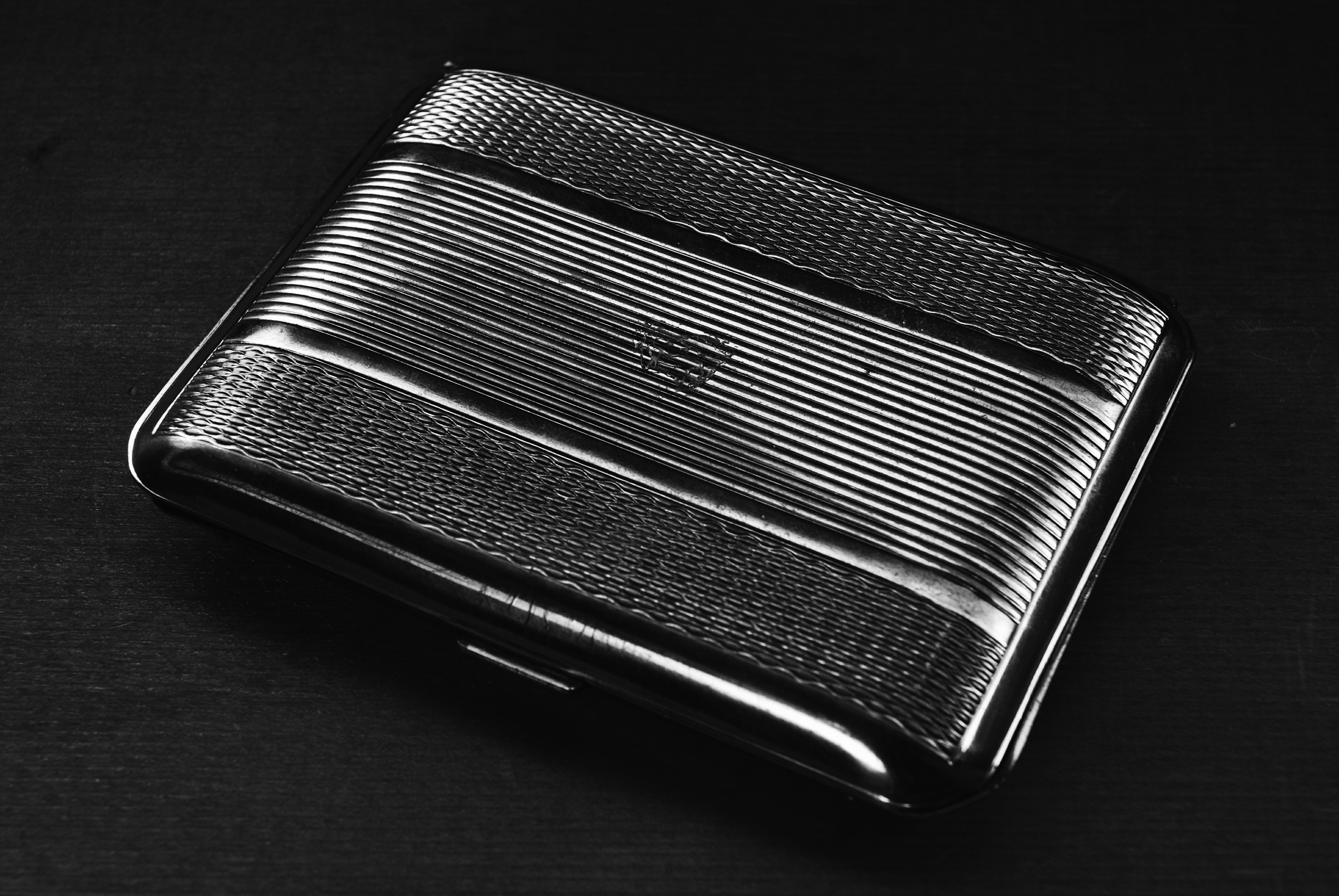 Cigarette case belonging to a great-uncle