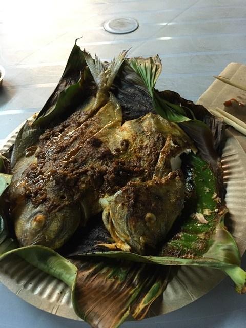 Deep-fried Cencaru