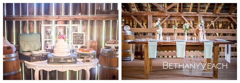 Beautiful rustic barn wedding