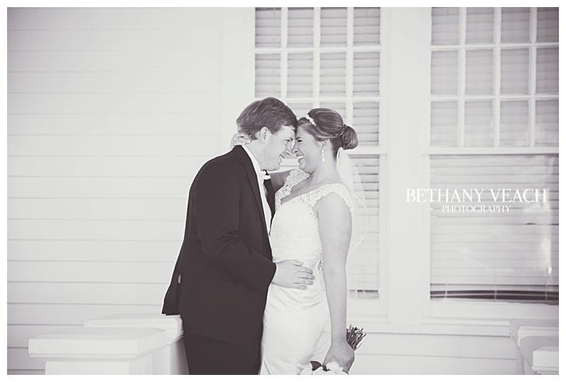 sweet wedding portraits