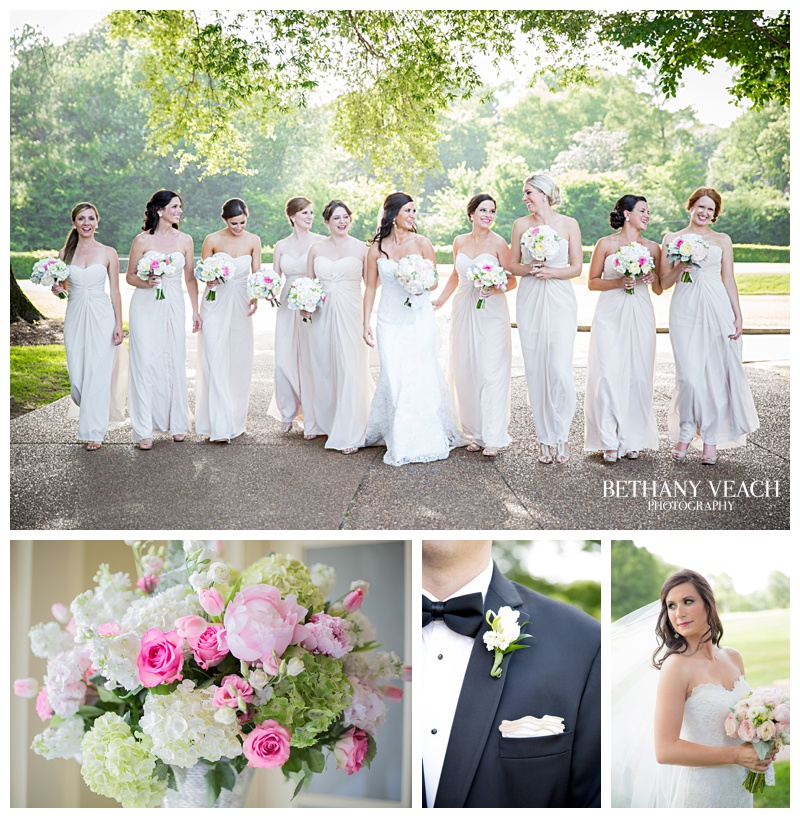 Memphis Country Club Wedding