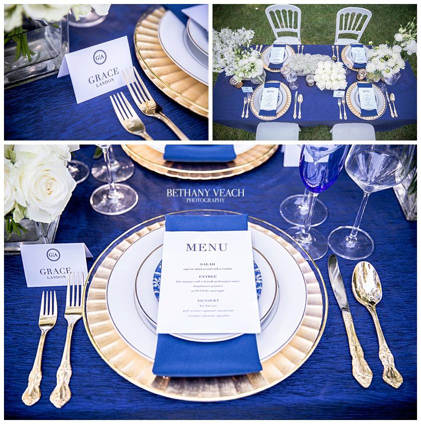 Gorgeous Memphis wedding tablescape