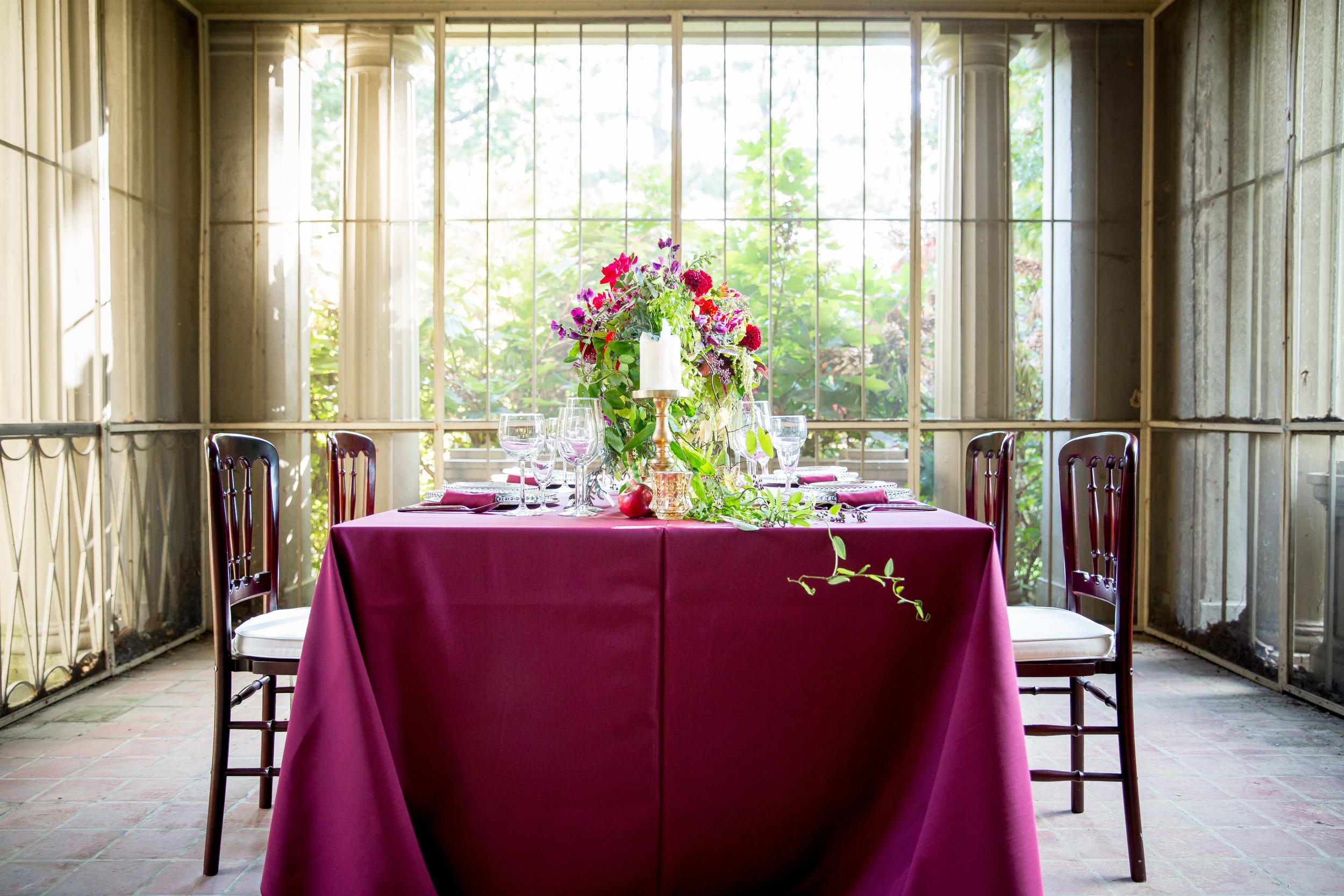 enchanted reception