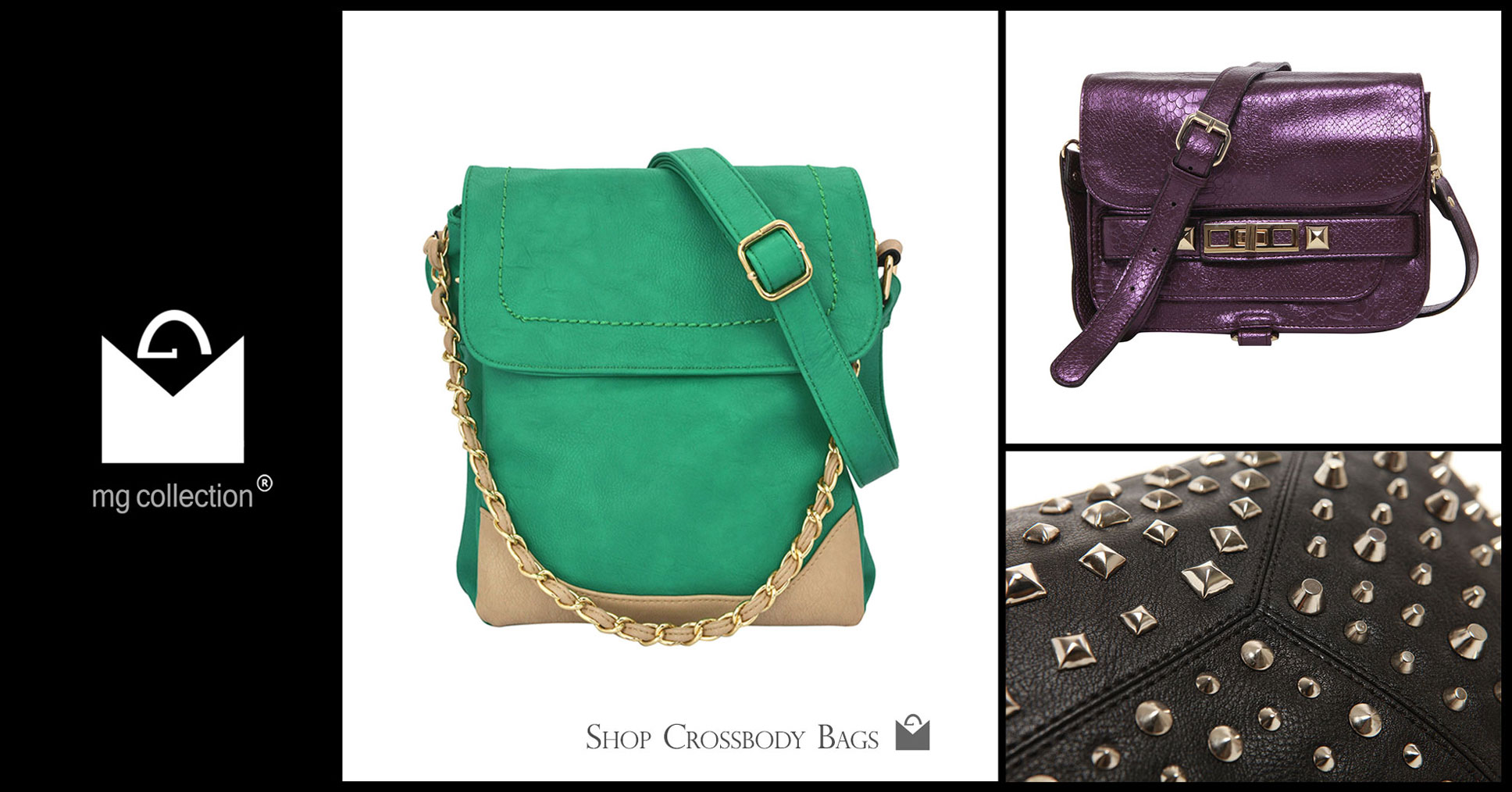 Shop Crossbody Bags @ MG Collection