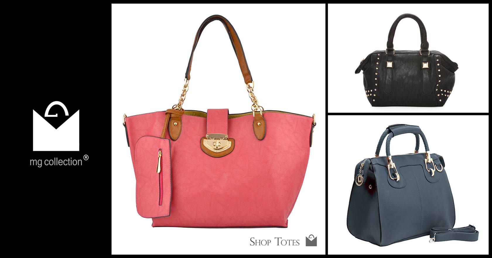Shop Tote Handbags @ MG Collection