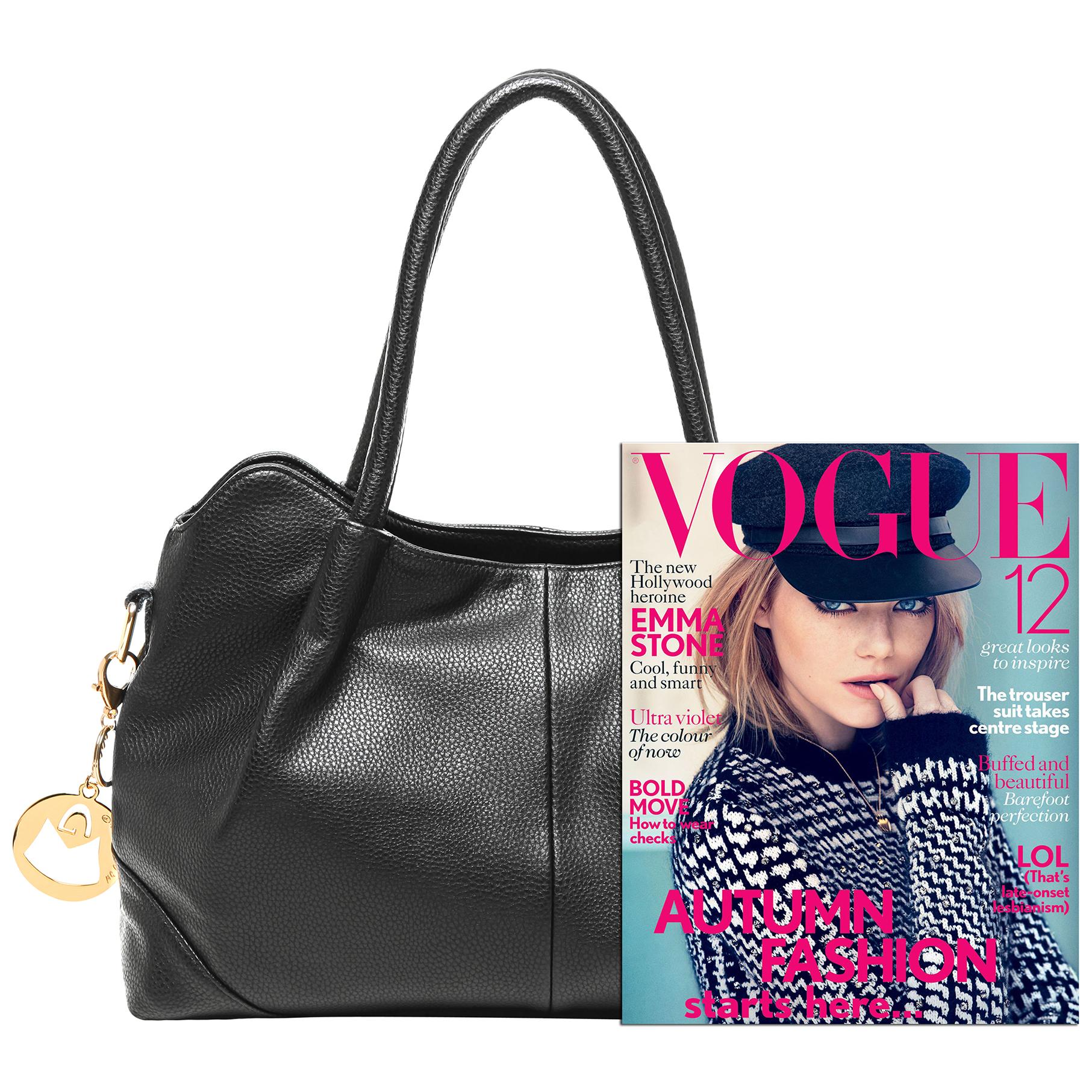 ASSA Black Classic Top Handle Shoulder Bag Handbag size