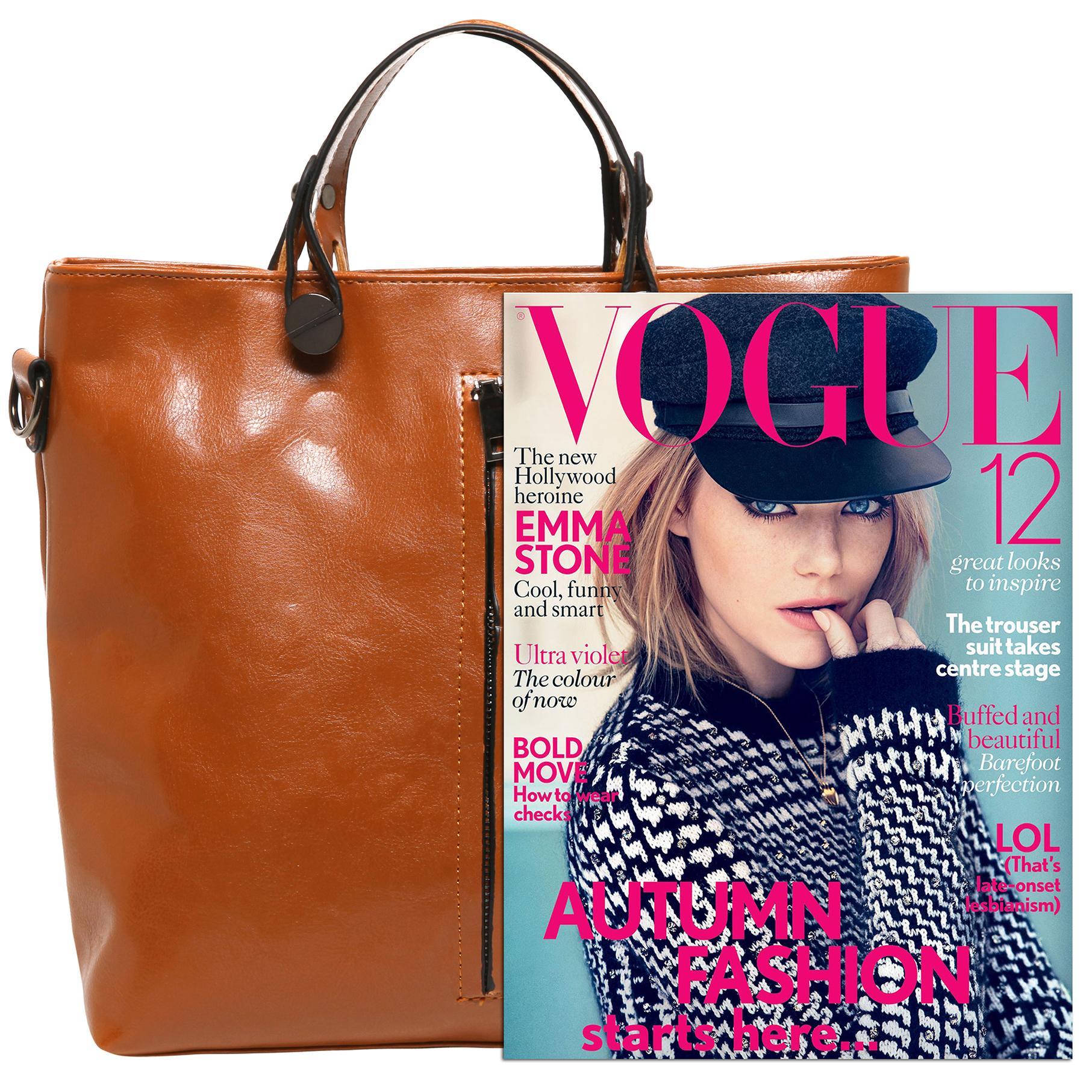 ALDIS Brown Top Handle Office Tote Handbag size