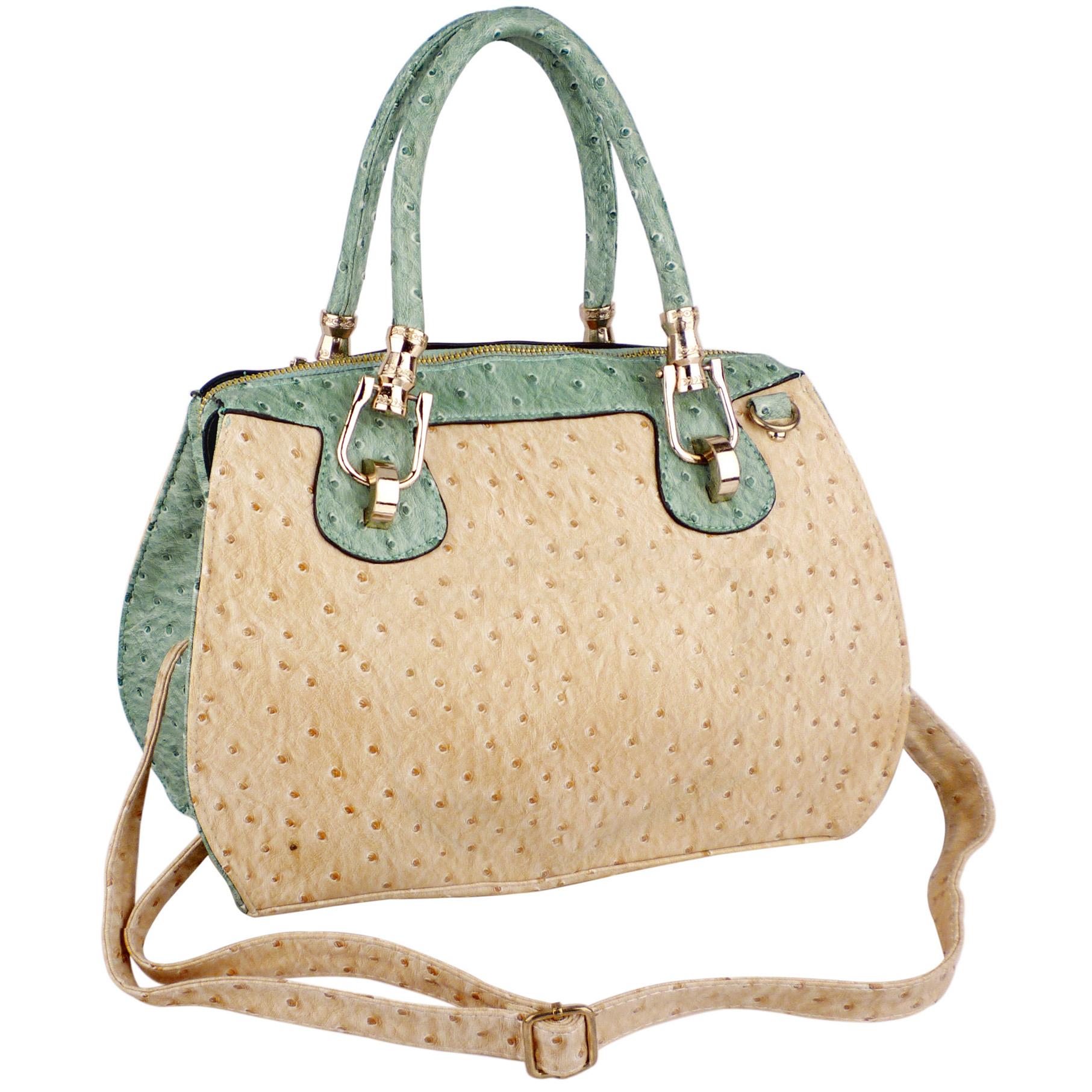 MARISSA Green Doctor Style Handbag Main