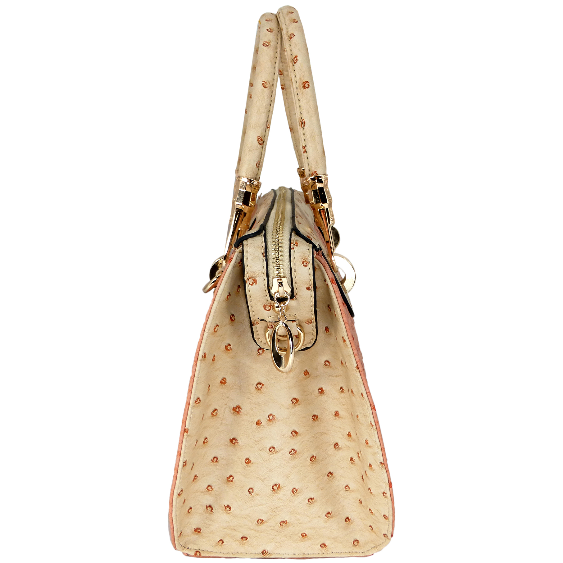 MARISSA Pink Doctor Style Handbag side