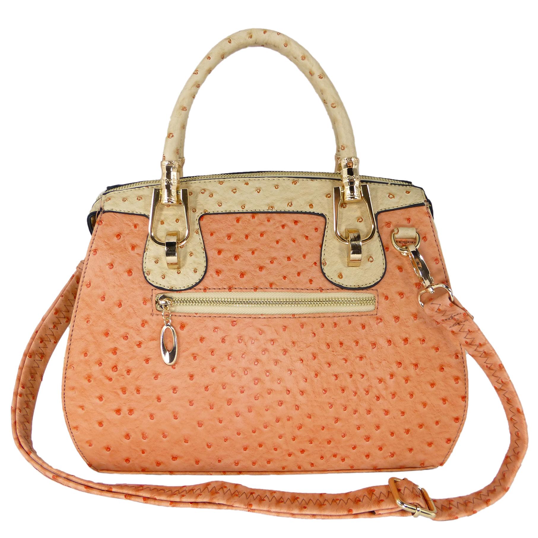 MARISSA Pink Doctor Style Handbag back