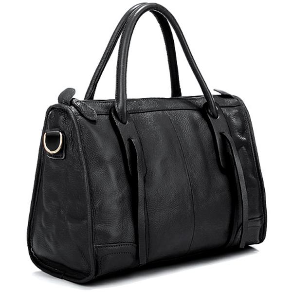 Jazzelle black classic shoulder handbag main image
