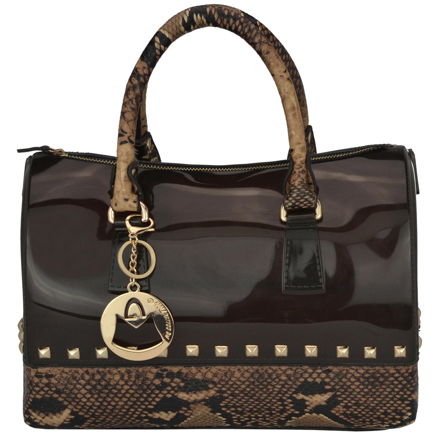 AMANI brown Jessie Style Doctor Handbag front image