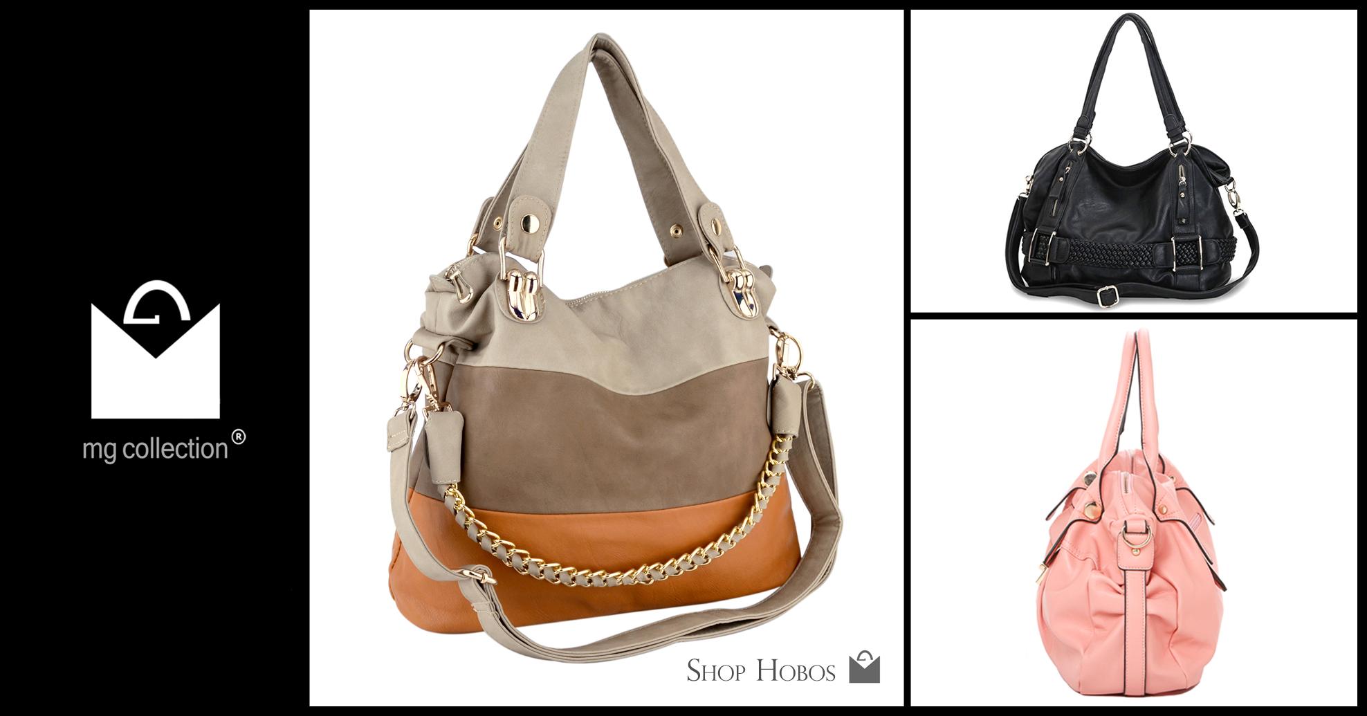 Shop Hobo Handbags from MG Collection