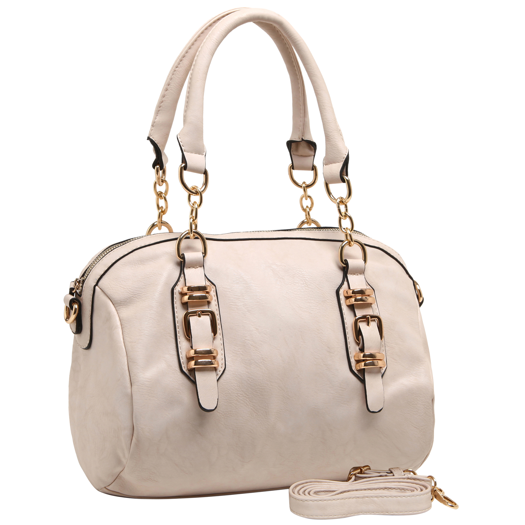 SONIA Beige Barrel Top Handle Tote handbag main image